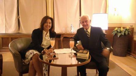 Sigrid Mangilli e Arrigo Cipriani