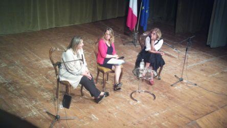 Concita De Gregorio e Laura Puppato